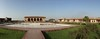 Jahangir's Quadrangle - Lahore Fort (яızωαи) Tags: fort lahorefort jahangirs quadrangle muslim mughal architecture lahore pakistan walled city oldcity widescape bw black white شاہی قلعہ لاہور hall panorama