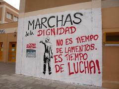 GRAFFITI SOBRE LAS MARCHAS EN VALLECAS VILLA 25#22M (Jül2001) Tags: protest 15 movimiento revolution mayo revolución politica marchas 15m manifestaciones protestas 22m libertades spanishrevolution movimientossociales luchasocial indignados recortessociales marchasdeladignidad