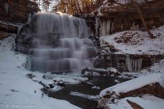 Lower Decew Falls (awaketoadream) Tags: winter snow ontario canada cold march waterfall long exposure niagara falls southern lower escarpment thorold decew