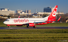 Boeing 737 - AirBerlin (CharlesDheret) Tags: ber ory b738 lfpo dabmp