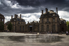 European Capital (ponzoosa) Tags: france museum cloudy capital arts strasbourg rainy museo artes estrasburgo bellas beaux alsacia