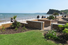 IMG_1948site3fromSite4 (janohighway) Tags: summer sculpture art design seaside community selection environment choice recycling collective debate teignmouth outdoorart ecoart sculpturetrail devonuk womenartists trail2016