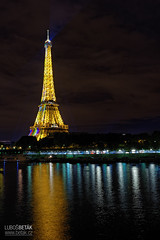 Tour Eiffel (betak.cz) Tags: city travel sky urban black paris france tower skyline architecture night lights for freedom nikon europe cityscape tour outdoor pray sigma eiffel pariz v sigma35mm nikond800
