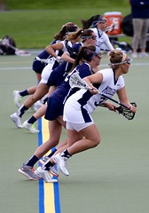 Lacrosse charge (stephencharlesjames) Tags: college sports women action middlebury lacrosse ncaa dickinson fairleigh