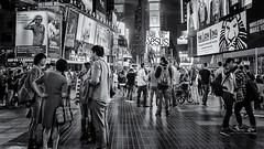 Hey have you heard the news? (mcb photography) Tags: street city nyc urban usa newyork love america advertising neon religion jesus crowd tourist billboard timessquare urbanjungle bustle aerosmith preach hustle streetjesus mikebarber mcbphotography wwwmcbphotographycouk heyhaveyouheardthenews