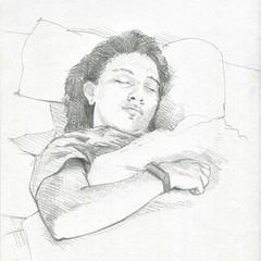Schlafende II (JENS01) Tags: figuredrawing schlafend bleistift lifedrawing pencildrawing