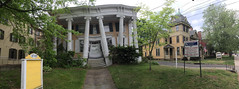 365-182 ( estatik ) Tags: county street old panorama building st moving movement day main columns saturday warped 365 sat rent flemington icm lease iphone 182 hunterdon 51416 intentionalcameramovement 365182 may142016
