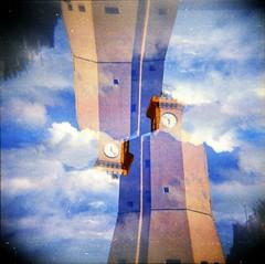 [Holga e le Sue Sorelle] Torre degli Appiani (Urca) Tags: 120 6x6 film mediumformat holga lomo italia squareformat multi doppiaesposizione 2016 isoladelba riomarina doubleexposureanalogic holgalomo1201606110006