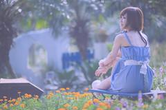 _DSC2792 () Tags: portrait woman cute beauty nikon dress d f14 85mm kawaii brunette charming   taoyuan        8514     d3s nikonafnikkor85mmf14dif 2010201009