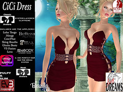CiCi dress red (mysticdreams0607) Tags: eve red texture evening design outfit different dress lace formal sensual latest newest recent apparel physique maitreya slink casualsexy evemesh