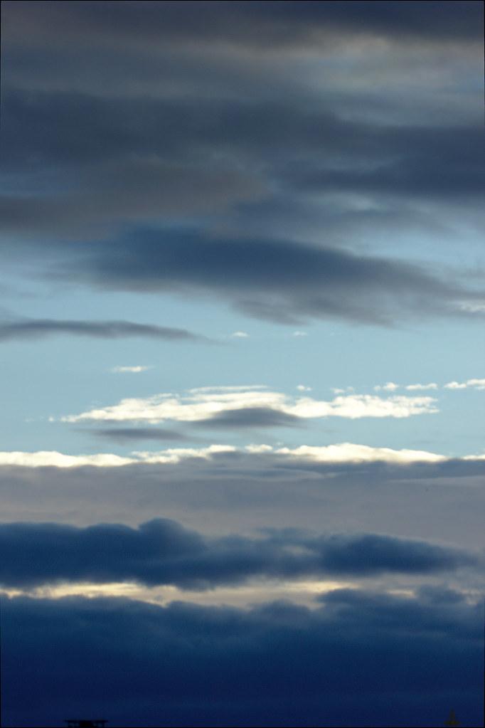 фото: Закатные тучки