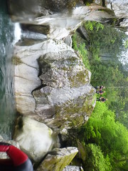 P1120405 (Mountain Sports Alpinschule) Tags: blue mountain sports lagoon canyoning zillertal zemmschlucht alpinschule