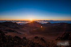 Haleakala Sunrise in Maui Hawaii with Nikon D810 and 14-24mm Lens _86A0068 (The Smoking Camera) Tags: blue red sky orange sun mountain clouds sunrise landscape volcano hawaii nikon wideangle maui haleakala crater flare hawaiian sunburst otherworldly d810 1424mm nikonflickraward