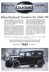 Oakland Motor Car Company - 19231124 Literary Digest (Jon Williamson) Tags: history vintage advertising ad vintageadvertising vintagead vintascope