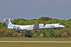 "G-JECN DHC-8Q 402 Flybe MAN 03-06-16 (PlanecrazyUK) Tags: man manchester 030616 ringway egcc flybe airport"" gjecn dhc8q402 ""manchester"