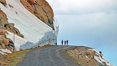 mevans3bikes (jamesg1545) Tags: bicycle cyclists mountain colorado mtevans altitude snow