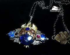"""Fairy"" Pendant golden dragon variscite handmade Steampunk, Vintage, Victorian, Gothic jewelry (fenixdrag) Tags: vintage necklace handmade pendant naturalstone filigree handmadejewelry vintagejewelry vintagependant victorianjewelry gothicjewelry handmadependant steampunkjewelry steampunkpendant filigreependant victorianpendant gothicpendant"