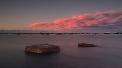 Long Reef Sunrise (RoosterMan64) Tags: longexposure seascape colour reflection clouds sunrise sydney australia nsw longreef rockshelf leefilters