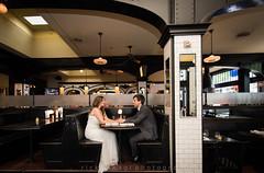 Wedding day (Rick Takagi) Tags: bastille cafe bar ballard washington bride groom wedding day seattle nikon