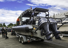 Overpowered (Tony Tomlin) Tags: canada boats bc britishcolumbia crescentbeach southsurrey crescentbeachmarina