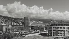 Il cielo sopra Savona - The sky over Savona (Tiziano Caviglia) Tags: sea panorama clouds landscape harbor nuvole mare liguria crescent grattacielo cruises skycraper darsena savona costacrociere marligure rivieradellepalme crociere torreorsero vecchiadarsena costafascinosa costadiadema