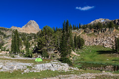 Campsite at 9,400' (Cameron Booth) Tags: camping mountain unitedstatesofamerica wyoming grandtetons wilderness campsite mountainrange tetoncounty jedediahsmithwilderness cariboutargheenationalforest