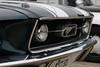 Mustang fastback (CH'7K) Tags: calandre phare chrome logo capot