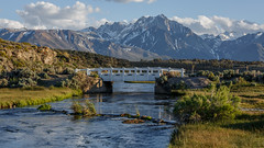 Sierra Nevada Over Bridge and Creek (Jeffrey Sullivan) Tags: california travel bridge copyright usa jeff nature creek canon landscape photography eos photo united may caldera states sullivan mammothlakes sierranevada longvalley easternsierra 2016 5dmarkiii