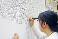 Live Painting (Design Festa) Tags: art japan japanese tokyo artwork artist drawing japaneseart tokyobigsight artfestival livepainting japaneseartist japanartfestival japaneseillustrator japaneseartfestival