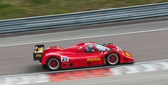 Red is faster (NaPCo74) Tags: auto classic momo track dijon or c group grand racing historic prix peter mans le age prototype hours 24 1991 dor endurance circuit gebhardt c91 prenois