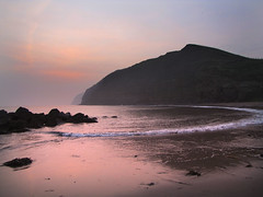 Misty sunrise a Skinningrove. (paul downing) Tags: misty sunrise canon spring northsea pdp skinningrove coastaluk pd1001 sx10is pauldowning