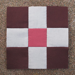 Sunday, 4/8 (amyehodge) Tags: quilt squares quilting block ninepatch 9patch piecing handsewing handpiecing