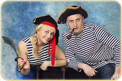 ? (MissSmile) Tags: family costumes studio fun dangerous funny couple stripes pipe smiles pirats misssmile