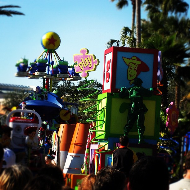 "Tell me story about ""Toy Story""... #orlando #DISNEYLAND"