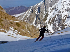 Scialpinismo Gran Sasso - Canale dei Pilastri
