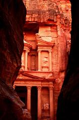 Petra Treasury (Armend Kabashi) Tags: city travel rock canon petra treasury middleeast canyon jordan indianajones antiquity nabateans ancientcity alkhazneh