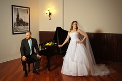 "Bride and Groom at Piano • <a style=""font-size:0.8em;"" href=""http://www.flickr.com/photos/76555094@N07/7080838549/"" target=""_blank"">View on Flickr</a>"