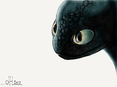 Toothless - How to train your dragon sketch on ipad 2 using paper 53 app #madewithpaper (WouterZArtZ - Dutch Designs!) Tags: art illustration design sketch comic dragon hand graphic cartoon fantasy ipad ipad2 paperapp