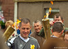 Torches in Burrelton (P&KC Archive) Tags: sport photography scotland community perthshire streetscene celebration 20thcentury relay olympicflame torchrelay localhistory olympictorch torchbearers historicevent civicpride perthandkinross ecsochistory recordinghistory