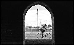 berlin...streets... (andrealinss) Tags: street leica blackandwhite bw berlin analog kreuzberg germany kodak streetphotography schwarzweiss friedrichshain so36 leicam6 kodak400tmax streetfotografie oberbaunbrücke andrealinss kreuzbergstreet
