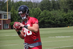 2012 Atlanta Falcons Minicamp - Day 2 (Atlanta_Falcons) Tags: fff minicamp 2012offseason atlminicamp adamnissley atlminicampday2