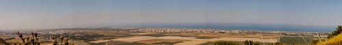 Panoramic from Zichron Yaakov
