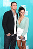 Channing Tatum and his wife, actress Jenna Dewan Tatum MTV Movie Awards. 06.03.12 WENN.com