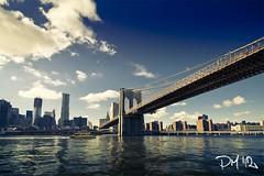 Day 3: Cruise Boat - Brooklin Bridge - NYC (piddaz) Tags: new york city nyc bridge cruise color building water america canon eau colours taxi united ponte 7d pont states bateau grattacielo acqua palazzo colori brooklin uniti battello unis citt strret stati etats sigma1020mmf456exdchsm eos7d