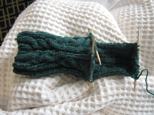 Log cabin socks progress