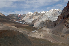 View towards the Lupgar Pir pass (Big Lee) Tags: pakistan mountaineering karakoram hunza northernareas alpinism alpineclimbing