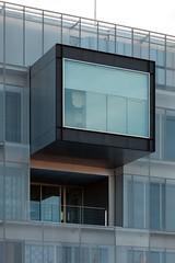 Voluar arquitectura. Comisaria Fuencarral #11 (Ximo Michavila) Tags: madrid urban abstract building geometric window glass lines metal architecture grey balcony perspective architecturephotography archidose voluar ximomichavila