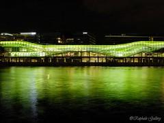 Green night (Raphalem) Tags: green seine night vert nuit reflets fleuve