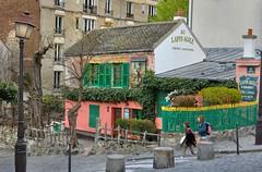 Paris Montmartre : Au Lapin Agile   2/2 (Pantchoa) Tags: paris france nikon montmartre cabaret rawfile lapinagile aulapinagile d90 35mmf18g pantchoa ringexcellence
