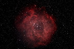 "Rosette Nebula by Linton Guise • <a style=""font-size:0.8em;"" href=""http://www.flickr.com/photos/74627054@N08/7576991474/"" target=""_blank"">View on Flickr</a>"